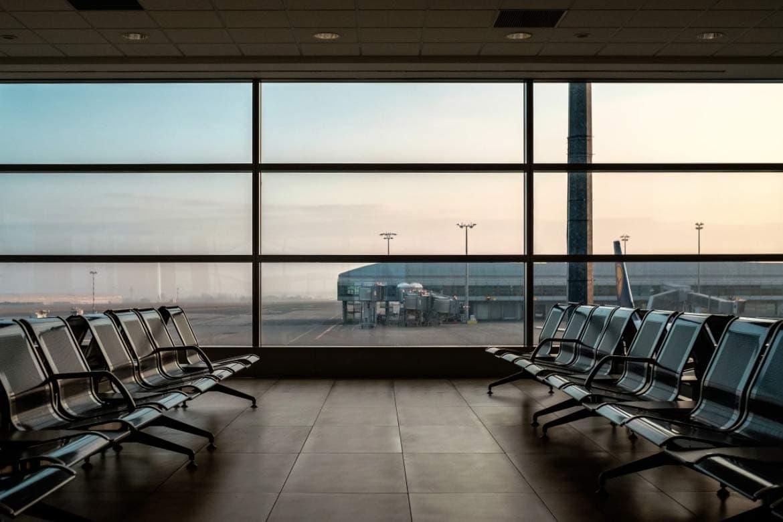 traveling in vietnam empty airport
