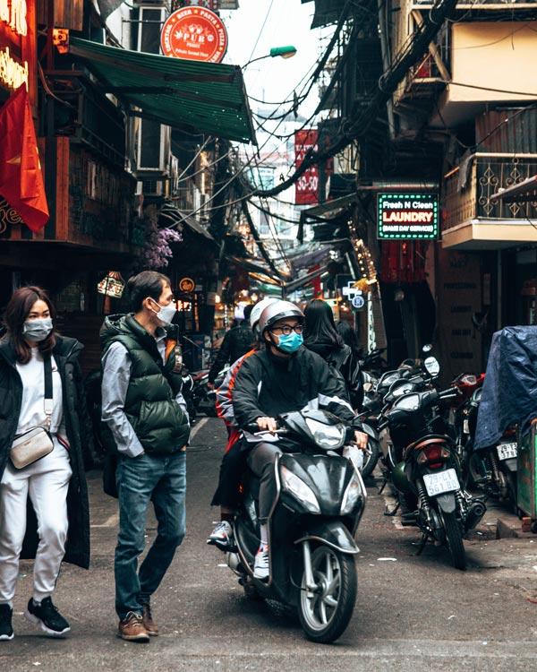 hanoi city traffic and health