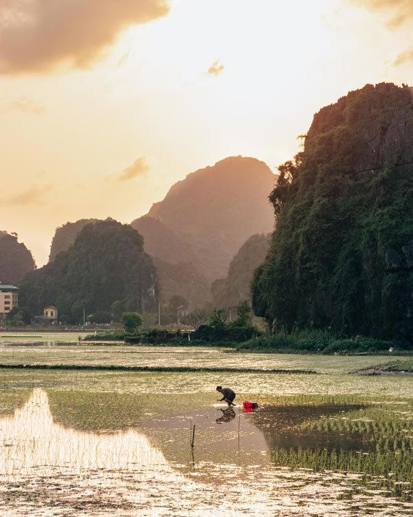 Ninh Binh in winter