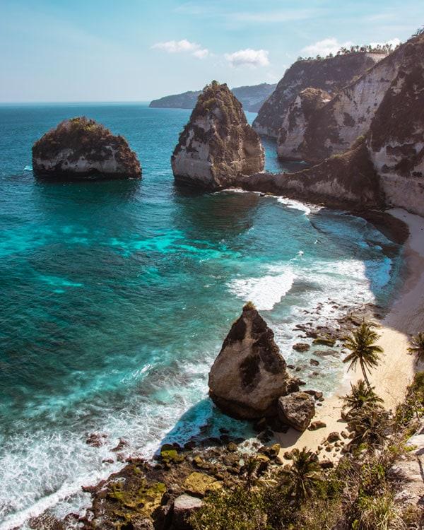 Diamond Beach, Bali