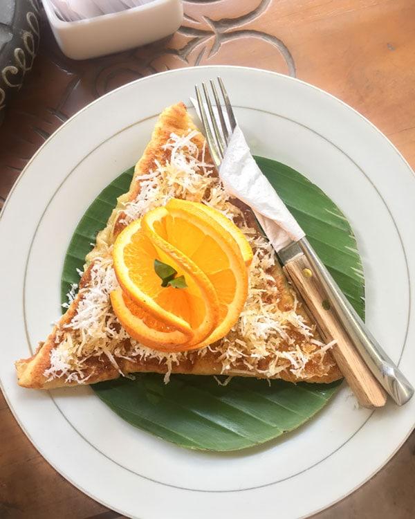 bali food pancakes