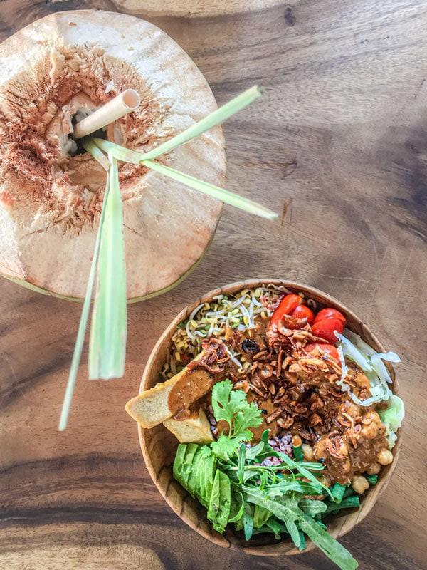 Bali food gado gado