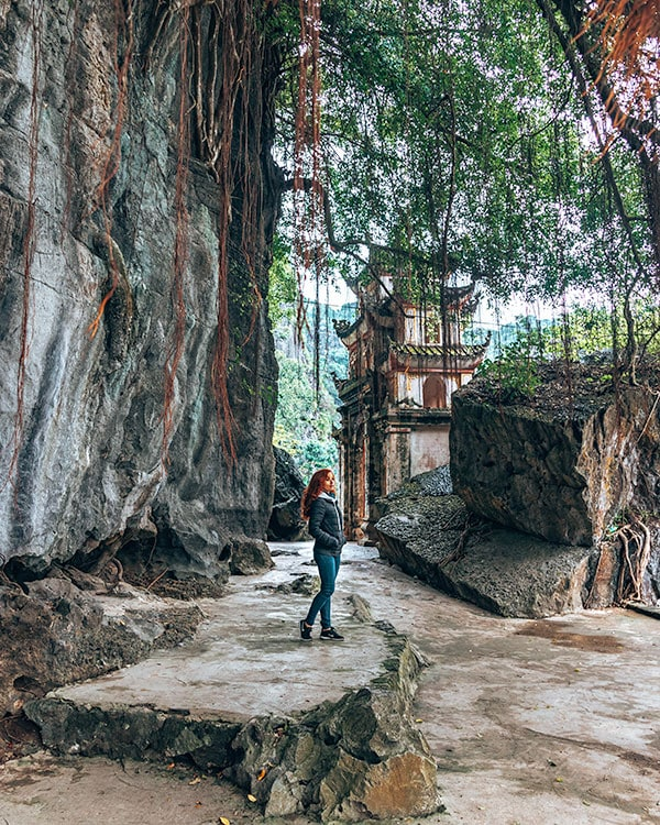 Bich Dong pagoda Tam Coc