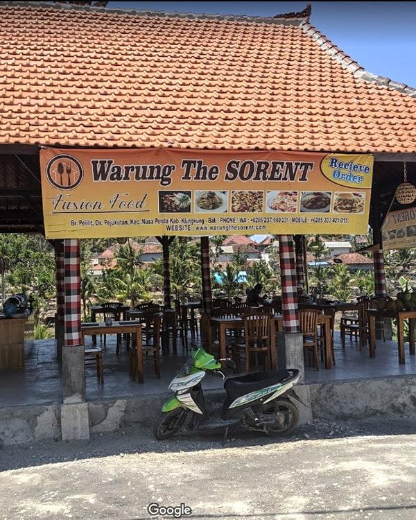 The Sorent Nusa Penida
